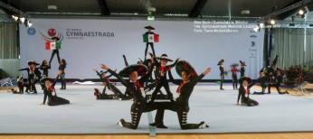 México en la Gymnaestrada Mundial - Lausanne 2011