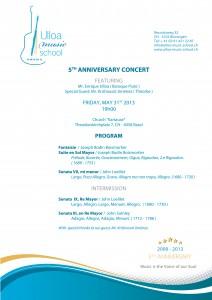 Concierto 31 de mayo en Basel