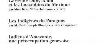 Gertrude Duby Blom y los lacandones de México