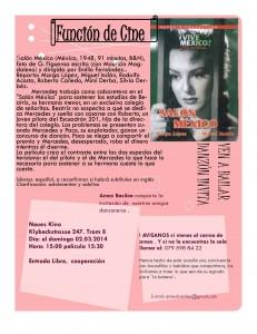 Salón México, película en Basilea.